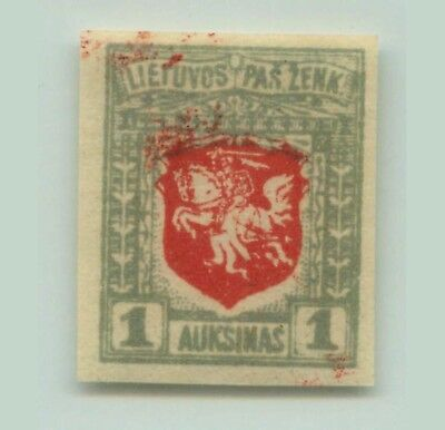 Lithuania 1919 SC 58 mint imperf . d6972