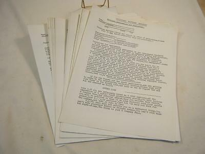 Vintage Lot 31 Cincinnati Southern Railroad Official Applications for Employment