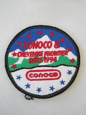 Conoco Patch Cheyenne Frontier Days Wyoming 1994 Vintage
