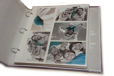 20 Refill Photo Album Sheet Holds 6x4   200 Photos For Large Ringbinder Photo Al