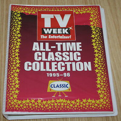 TV Week All Time Classic Collection Collector Cards 1995-1996 In Album