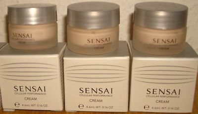 Kanebo Sensai Cellular Performance Cream 3 x 4,6 ml Luxus Reisegröße