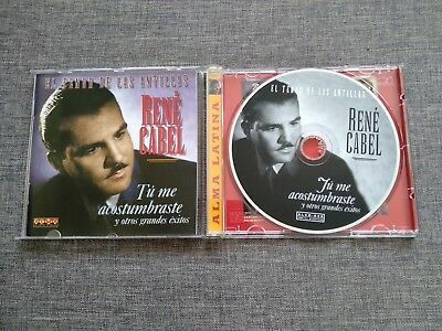 Cd Rene Cabel - El Tenor De Las Antillas - Alma Latina - 20 Tracks - 1996 - Rare