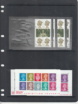 Gb 1999-2005 Any Mini Sheet Issued Unmounted Mint/mnh Ebay Only