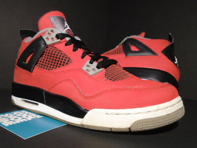 c101cc299c60 Nike Air Jordan Iv 4 Retro Gs Toro Fire Red White Black Cement Grey Og 6Y