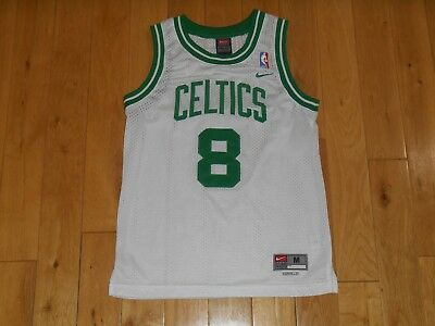 Vintage Nike ANTOINE WALKER BOSTON CELTICS Youth NBA Swingman Team JERSEY  Medium 3a2b0d85c