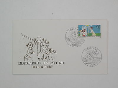 (k665) Berlin Schmuck FDC Michel Nr. 665 Sport 1982 Volleyball