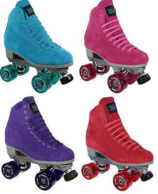Sure-Grip Boardwalk Indoor Roller Skates Pair with Fame Wheels 4 - 10 SIZES NEW