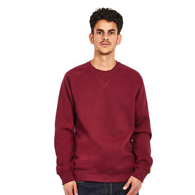 Carhartt WIP - Chase Sweat Mulberry / Gold Pullover Rundhals