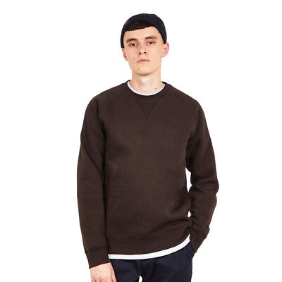 Carhartt WIP - Chase Sweat Tobacco / Gold Pullover Rundhals