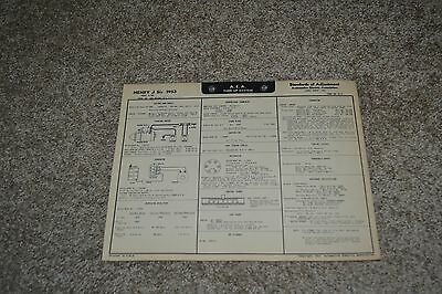 1953 buick special tune up wiring diagram sheet series 40 5 00 rh picclick com