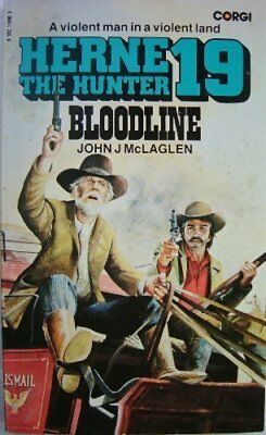 Bloodline (Herne the hunter) by McLaglen, John J. Paperback Book The Cheap Fast