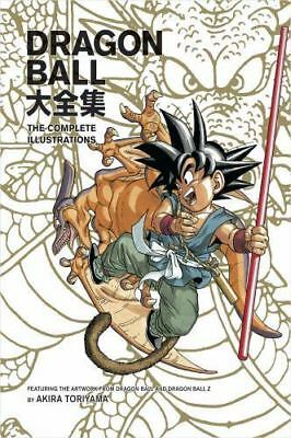 Dragon Ball: The Complete Illustrations by Akira Toriyama (2008, Paperback)