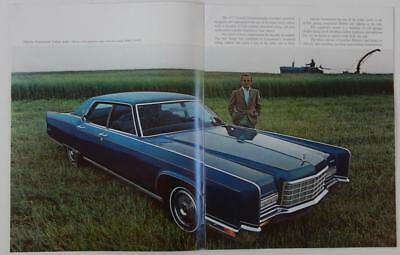 Vintage 1972 Lincoln Continental Mark IV Brochure Town Car Coupe Mercury Ford