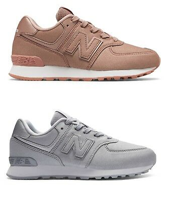 New Balance 574 Ka Ks Gold Silver Oro Argento Scarpe Donna Shoes Schuhe Zapatos