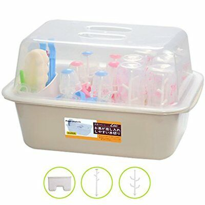 Baby Bottle Drying Rack Tray Cleaning Organiser Holder for Baby Bottles and Feed