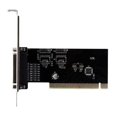 PCI I O Parallel Port DB25 25Pin IEEE 1284 Printer Controller Card Adapter