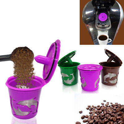 Durable Refillable Reusable K-Cup Coffee Filter Pod for Keurig 2.0 Coffee Eyeful