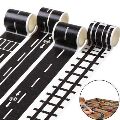 Kids Toy Car Road Adhesive Tape Removable Play Room DIY Track Floor Sticker AU