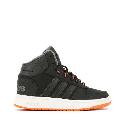 wholesale dealer 20861 77606 ... low cost adidas neo hoops mid 2.0 k sneaker bambini b75742 carbon 6193f  014e2