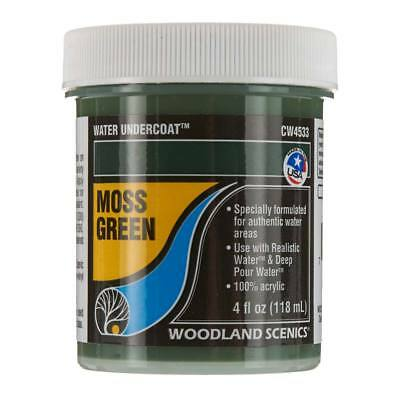 Woodland Scenics Water Undercoat - Moss Green CW4533