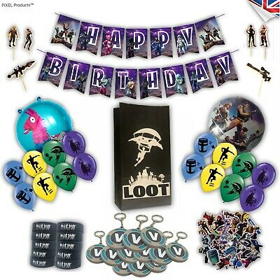 Gamer Party bag fillers, favours, supplies, loot, ideas, balloons, wristbands