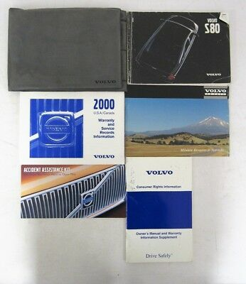 2000 volvo s80 owners manual book 13 54 picclick rh picclick com 2001 Volvo S80 Fuel Pump Volvo S80 Manual Online