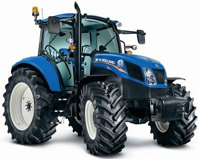 A3 Ford/New Holland Tractor T5 Agriculture Wall Poster Art Picture Print