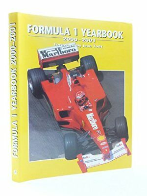 Formula One Yearbook: 2000-2001 Hardback Book The Cheap Fast Free Post