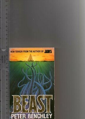 Beast by Benchley, Peter Paperback Book The Cheap Fast Free Post