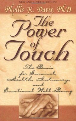 The Power of Touch by Davis, Phyllis K. Paperback Book The Cheap Fast Free Post