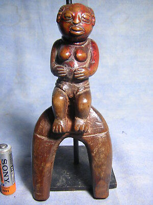 Lance Pierre Baoule Statue Africaine African Art Masque Africain Mask Afrique