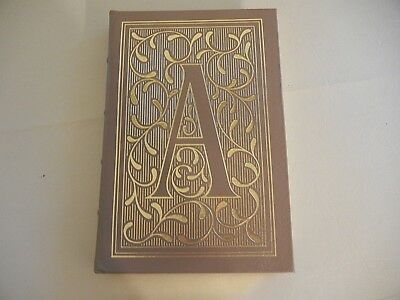 "THE EASTON PRESS  ""  THE SCARLET  LETTER by  NATHANIEL HAWTHORNE ""  - NEW  COND."