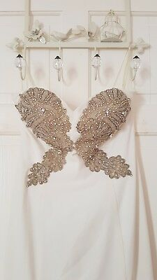 Used wedding dress size 10-12