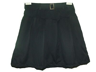 NEW GIRLS EX STORE NAVY A LINE  PLEATED ADJUSTABLE SCHOOL SKIRT AGE 9-10 yr AA16