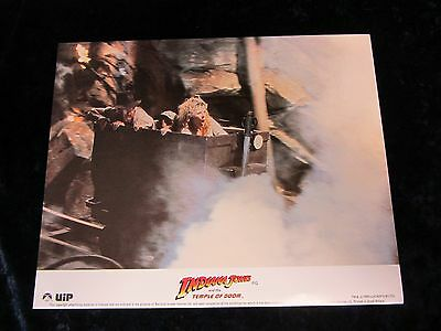 Indiana Jones and the Temple Of Doom lobby card - Harrison Ford, Kate Capshaw