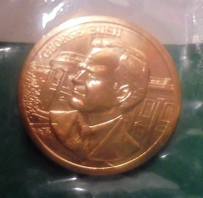 Inauguration of President George H  Bush Bronze Medal January 20, 1989