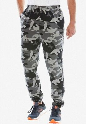 Big Men's Thermal-Lined Camo Cargo Pants - XL to 8X (Lots of 20)