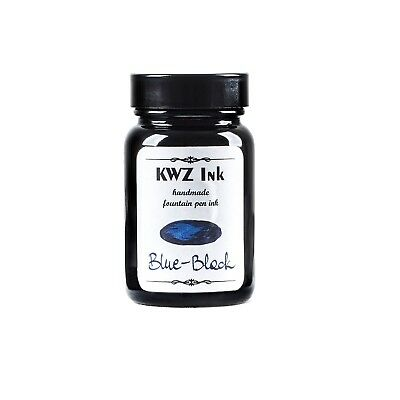 KWZ Ink,Fountainpen ink,Tinte,Kalligraphie,Schreibtinte,Blue Black,60 ml