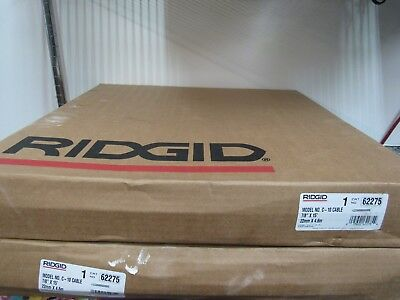 """2 NEW Ridgid 62275 C-10 Steel Drane Cleaning Cable 7/8"""" x 15' FREE Shipping!"""