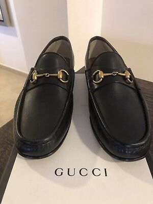 0c757651d5b2a BRAND NEW GUCCI 1953 Horsebit Leather Black Loafer Men s Size 10.5 ...