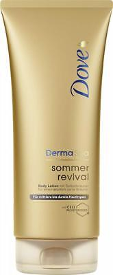 Dove DermaSpa Body Lotion Sommer Revival dunkel, 2er Pack (2 x 200 ml)
