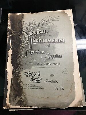 1800s ANTIQUE MEDICAL &SURGICAL  Book 100 Plates Plus Price Guide Awesome Book