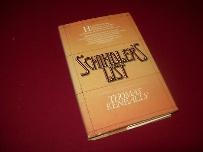 Schindler's List by Thomas Keneally (1982) 1st Printing Hardcover Book