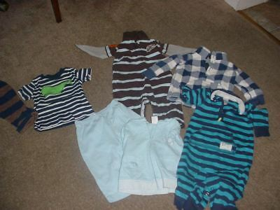 size 9 months carters  baby boys clothing lot euc