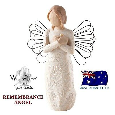 Willow Tree REMEMBRANCE ANGEL Figurine By Susan Lordi By Demdaco NEW IN BOX