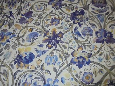 Multiyork  Curtain And Upholstery Fabric Design    Fenton  5.3 Metres  Dk4065