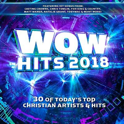 Various Artists- WOW Hits 2018: 30 Christian Artists & Hits [2CD] 2017** NEW **