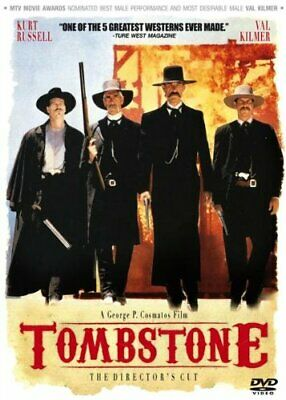 Tombstone (1993) Kurt Russell, Val Kilmer, Sam Elliott -  CD JKVG The Fast Free