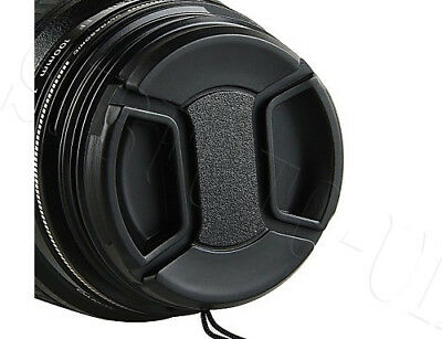 43Mm Generic Centre-Pinch Clip-On Front Lens Cap Cover For Nikon Canon Sony